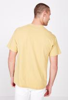 Cotton On - Essential skate tee - yellow