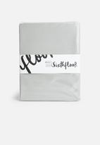 Sixth Floor - Cotton fitted sheet - grey