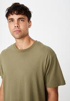 Cotton On - Essential skate tee - khaki
