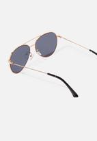 Cotton On - Dana aviator sunglasses - gold & grey