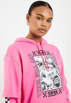Vans - Sting hoodie - pink