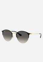 Ray-Ban - Light grey gradient dark grey - 50mm - gold & black