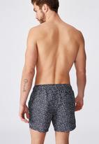 Cotton On - Swim shorts - navy & white