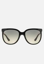 Ray-Ban - Cats 1000 crystal grey gradient RB4126 601/32 57 - black