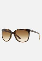 Ray-Ban - Cats 1000 crystal brown gradient RB4126 710/51 57 - brown & black