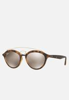 Ray-Ban - New gatsby ii light brown mirror gold RB4257 60925A 53 - brown