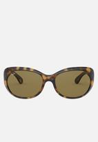 Ray-Ban - Tortoise dark brown classic - brown