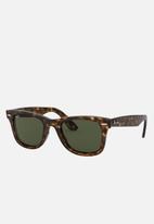 Ray-Ban - Wayfarer sunglasses 50mm - brown & green