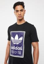 adidas Originals - Archive pantone tee - black & purple