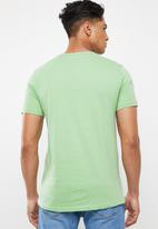 Cotton On - Essential henley - green