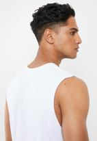 Cotton On - Tbar muscle tank - white