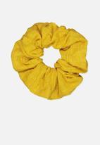 Cotton On - Spring scrunchie - yellow