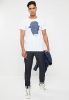 G-Star RAW - Graphic short sleeve tee - white