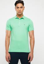 Tommy Hilfiger - Tommy slim polo - green