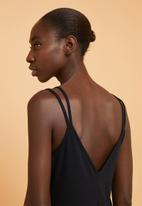 Superbalist - Knit strappy dress - black