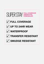 Maybelline - Superstay full coverage under eye concealer - 05 ivory