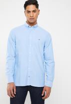 Tommy Hilfiger - Plain shirt - blue