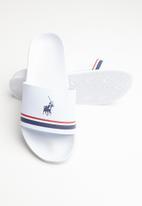 POLO - Shiva pool sandal - white