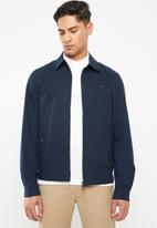 Tommy Hilfiger - New cycled cotton jacket - navy
