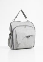 Escape Society - Diaper travel backpack - grey