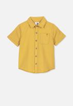 Cotton On - Resort short sleeve shirt - yellow