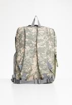 Escape Society - Outdoor camera backpack - beige & khaki green