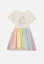Cotton On - Vivienne rainbow dress - multi