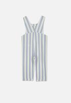 Cotton On - Madeleine stripe jumpsuit - blue & grey