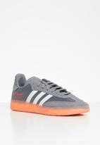 adidas Originals - Samba - grey / hi-res aqua / hi-res coral