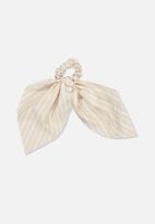Cotton On - Scarf scrunchie - beige