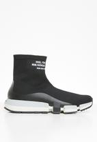 Diesel  - H-padola high sock - black