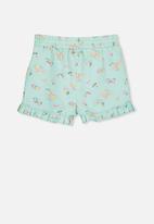 Cotton On - Girls pyjama shorts - blue