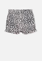 Cotton On - Girls pyjama shorts - pink & black