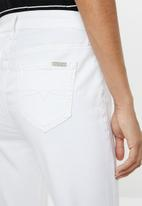 POLO - Stacey fashion jeans - white
