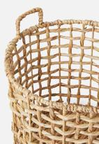 H&S - Water hyacinth basket - large