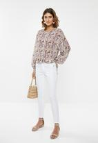 edit - Peasant blouse - multi