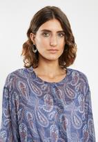 edit - Peasant blouse - multi