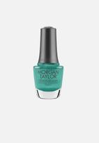 Morgan Taylor - Rocketman nail lacquer ltd edition - sir teal to you