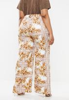 Missguided - Curve zimmerman palazzo pants - multi