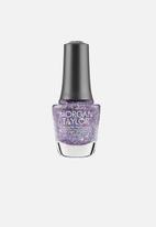 Morgan Taylor - Rocketman nail lacquer ltd edition - bedazzle me