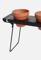 Emerging Creatives - Stockholm herb stacker - black