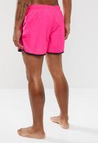 Brave Soul - Ennis neon swim shorts - pink