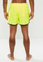 Brave Soul - Ennis neon swim shorts - yellow