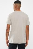 RVCA - Big pigment short sleeve - beige