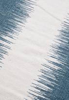 Sixth Floor - Vim printed rug - teal
