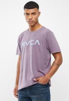 RVCA - Big pigment short sleeve tee - purple