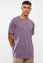 RVCA - Hortonsphere short sleeve tee - purple