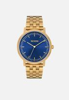 Nixon - The porter ss - gold & blue