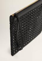 MANGO - Cosmetic bag - black