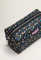 MANGO - Polka-dot print cosmetic bar - black